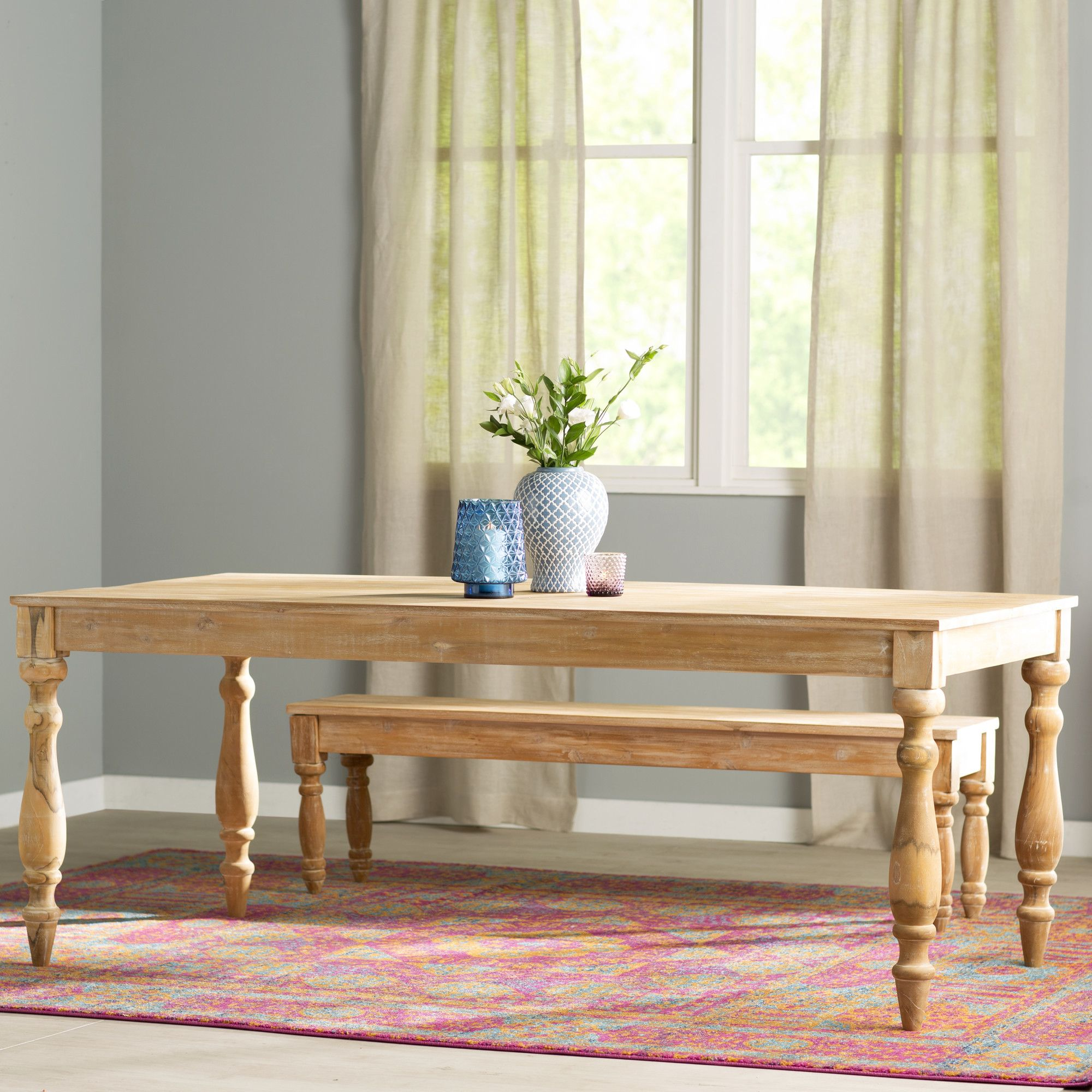 Cailean Teak Dining Table Products Pinterest