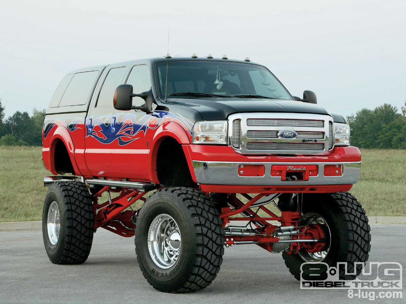 big ford trucks lifted Google Search