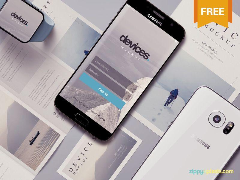 Free Android Mobile Mockup Scene Mobile mockup, Mockup