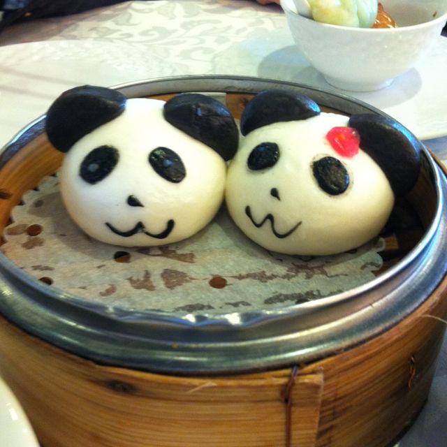 dim sum pandas dimsum food