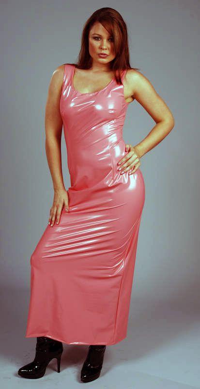 C6 Pvc Kleid Kleidung Pvc Kleid Mode