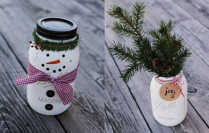 How To Decorate Mason Jars For Christmas Gifts Amazing Christmas Mason Jar Craft Instructions  Projects To Try  Pinterest