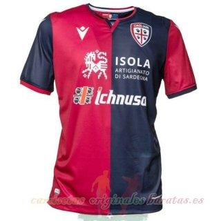 Tailandia Casa Camiseta Cagliari Calcio 2019 2020 Rojo   Maillot ...