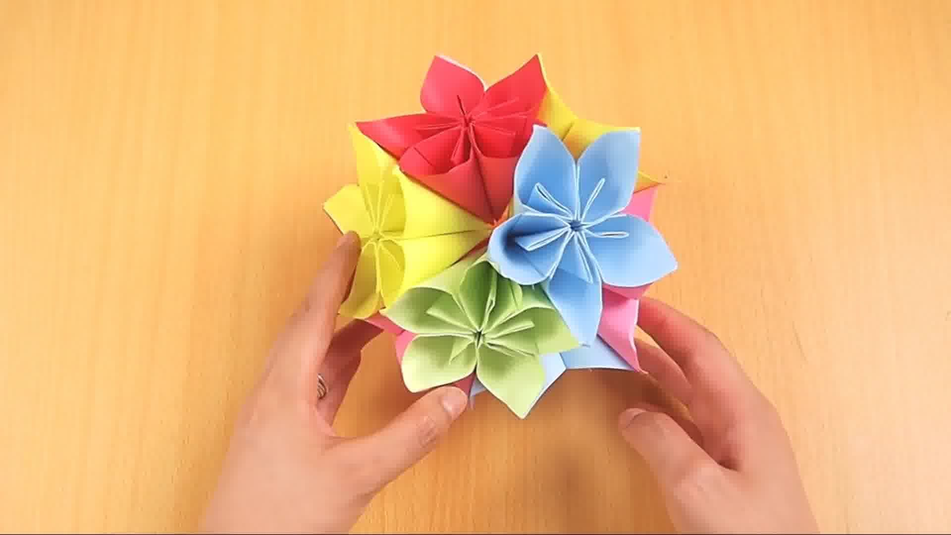 Make A Kusudama Ball Upcycle Pinterest Origami Diagrams How To Want Couple With Magazine Pages