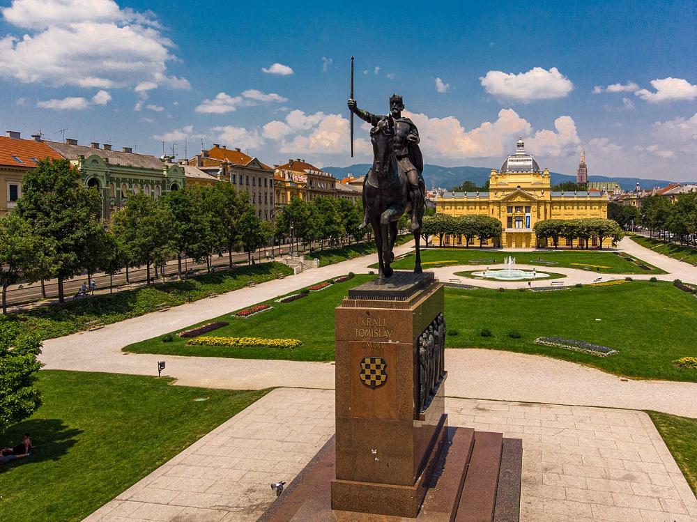 Zagreb Wikipedia In 2020 Zagreb Croatia Landmarks