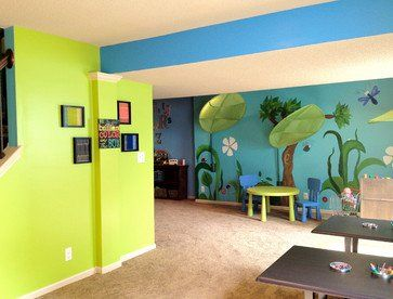Exceptionnel Home Daycare Decorating Ideas For Basement | Eco Healthy And Organic In Home  Childcare