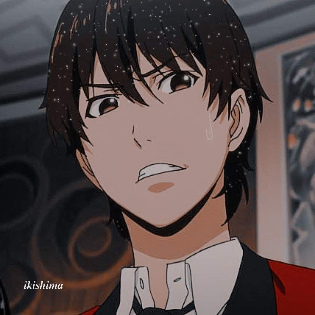 Yumeko S Compulsiveness Showing In Ryota Aesthetic Anime Anime Manga Anime