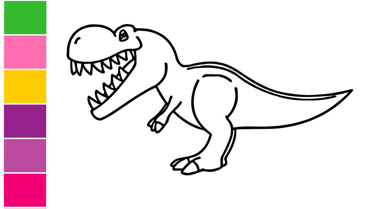 How to draw dinosaurs shortcuts the easy way