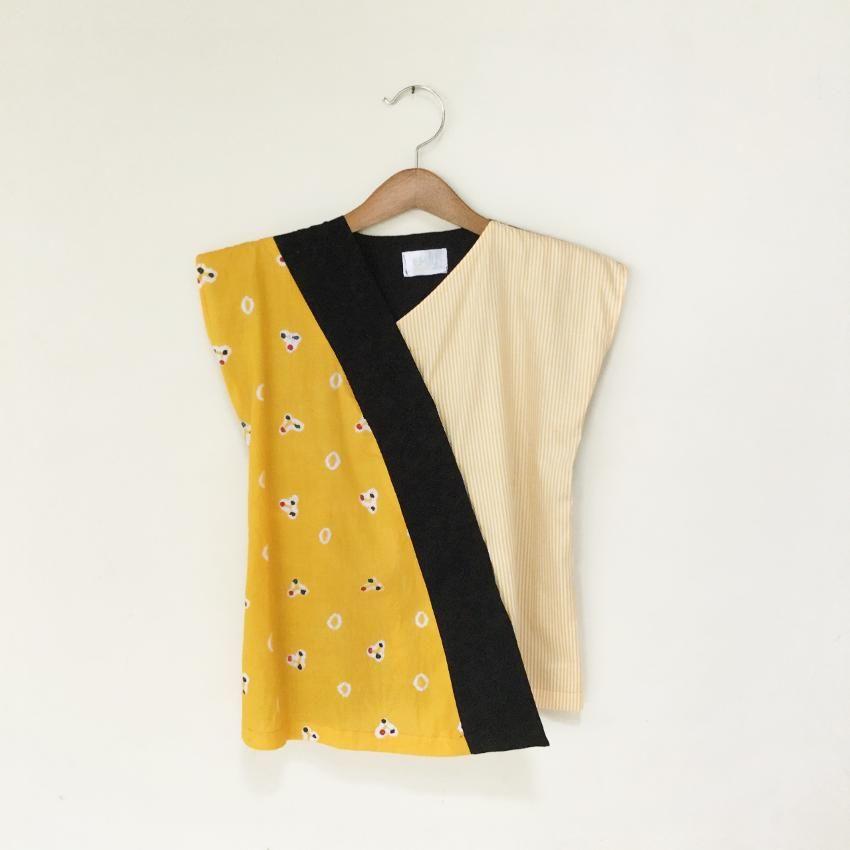Produk ini terbuat dari batik jumputan Handmadedengan kombinasi
