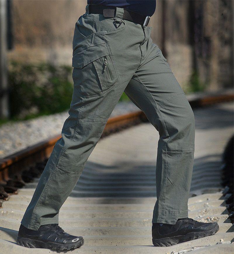 Urban Tactical Outdoor Pants IX9 Men Military Army Combat