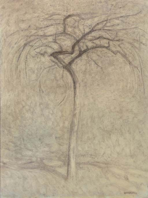leo gestel 1881 1941 the lonely tree 1909