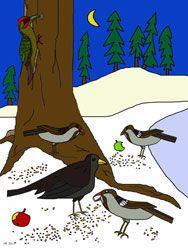 Ausmalbilder Tiere Im Winter Malvorlagen Tiere Ausmalbilder Tiere Tiere