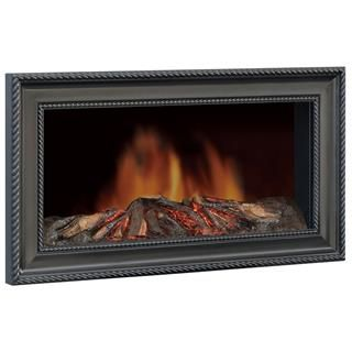 black wall mounted fireplace electric heater pellet stoves