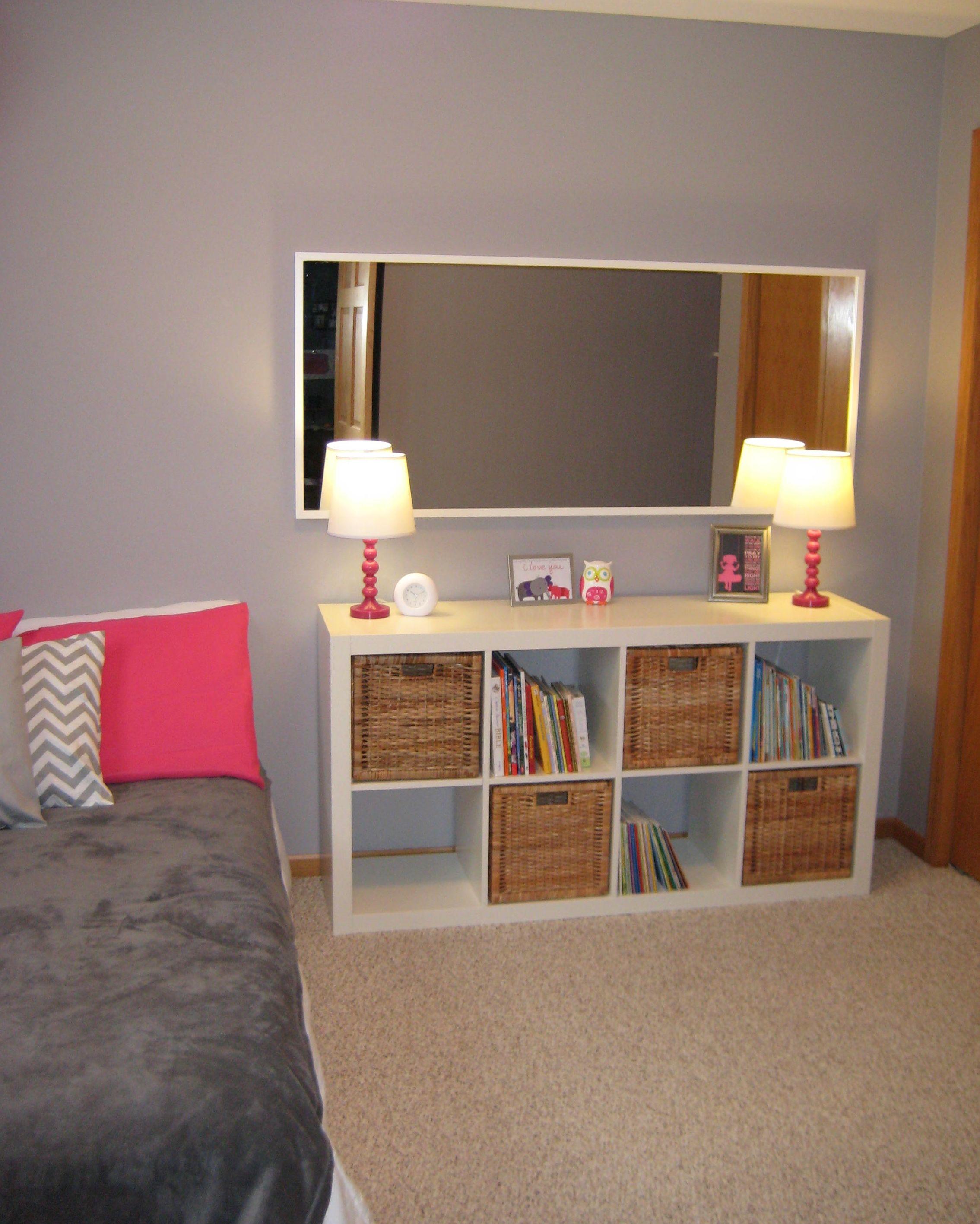 ikea expedit toddler girl room ideas para el hogar. Black Bedroom Furniture Sets. Home Design Ideas