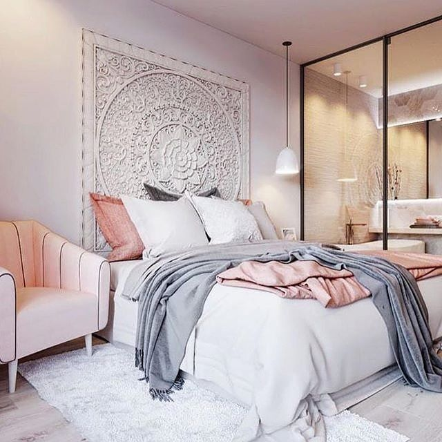 Amazing Instagram post by Planet Blue • Oct 20 2016 at 3 16pm UTC Pink DecorationsPastel BedroomBlush Grey Lovely - Awesome Blue and Grey Bedroom New Design