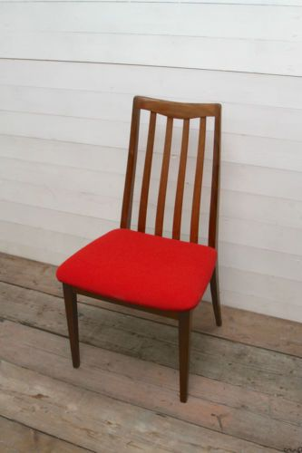 Newly Reupholstered Vintage Dining Chairs By G Plan