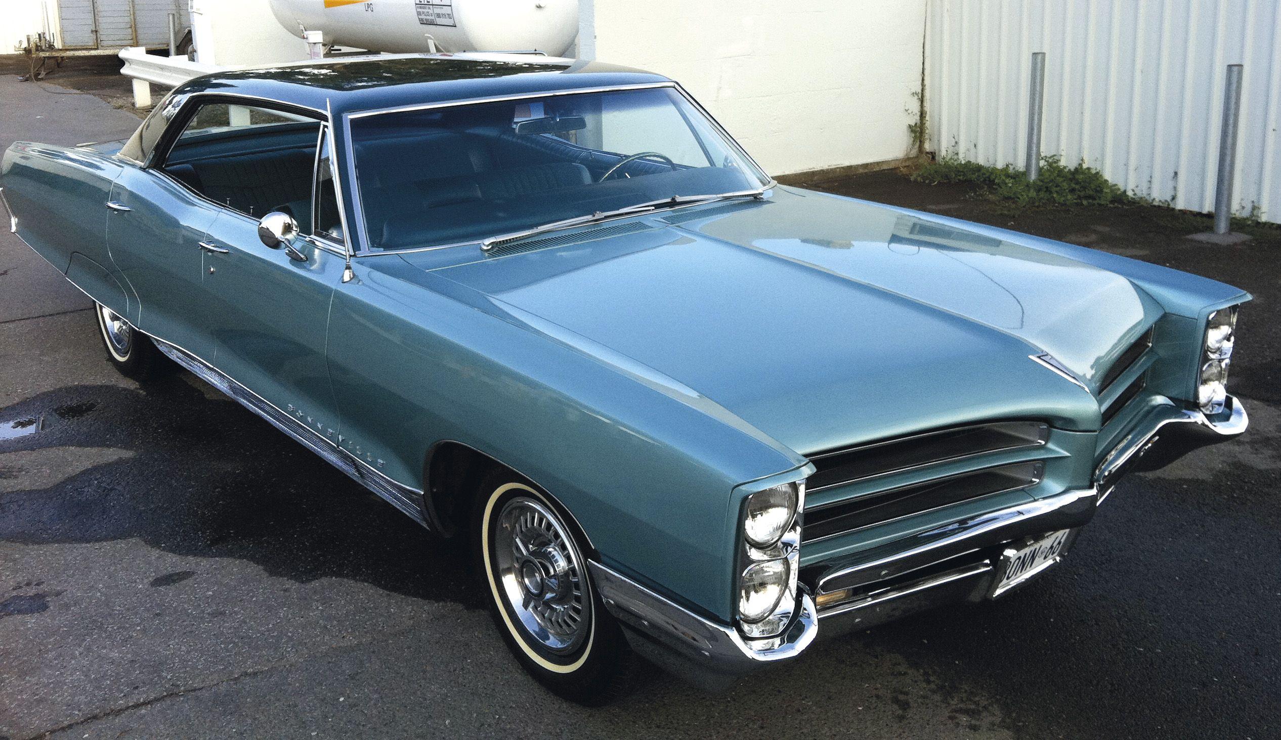1966 bonneville entered by paul aikman pontiac car club of for Garage auto bonneville