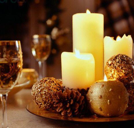 centros de mesa y arreglos florales para navidad