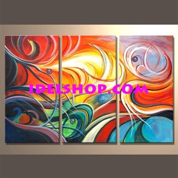 Quadri dipintiamano tele quadriastratti quadri for Tele quadri