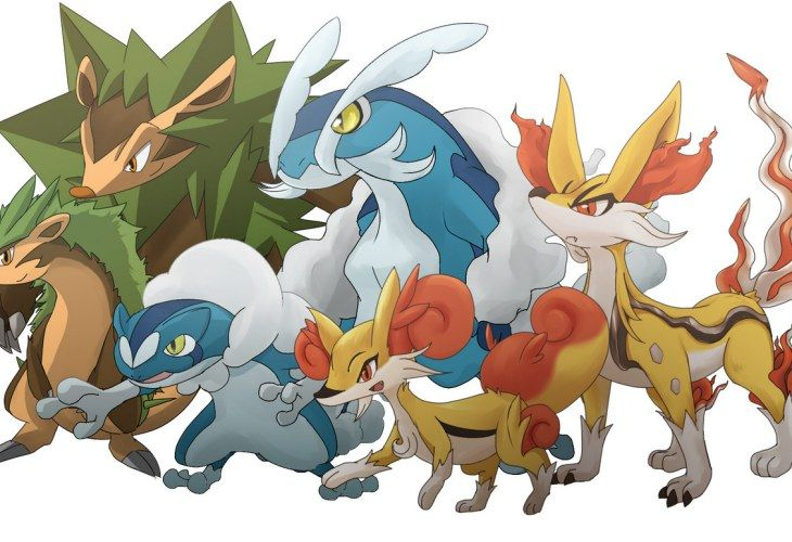 Who will you choose for your starter with Pokemon X and Y ...