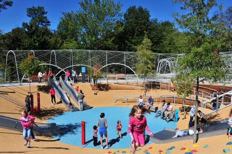 Woodland Discovery Playground In Shelby Farms Park Memphis Hike Bike Play At Shelby Farms Park Memphis Attractions Memphis Memphis Zoo