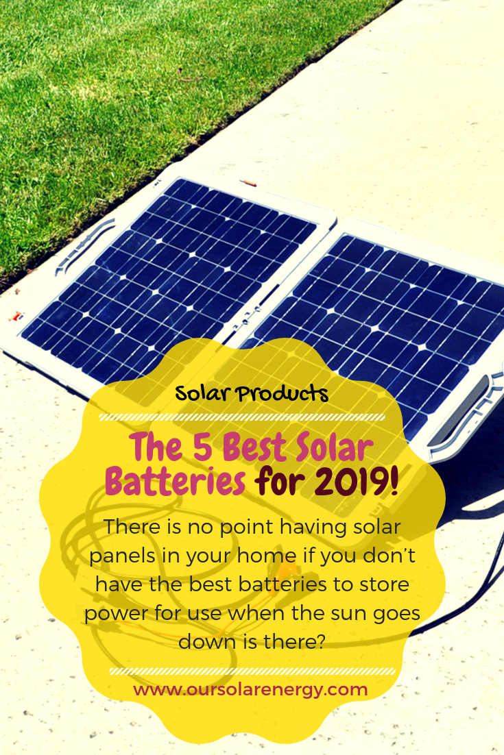 The Top 5 Solar Batteries For Home Energy Storage | Solar
