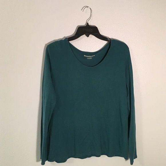 Blue Shirt In good condition! Magellan Tops Tees - Long Sleeve