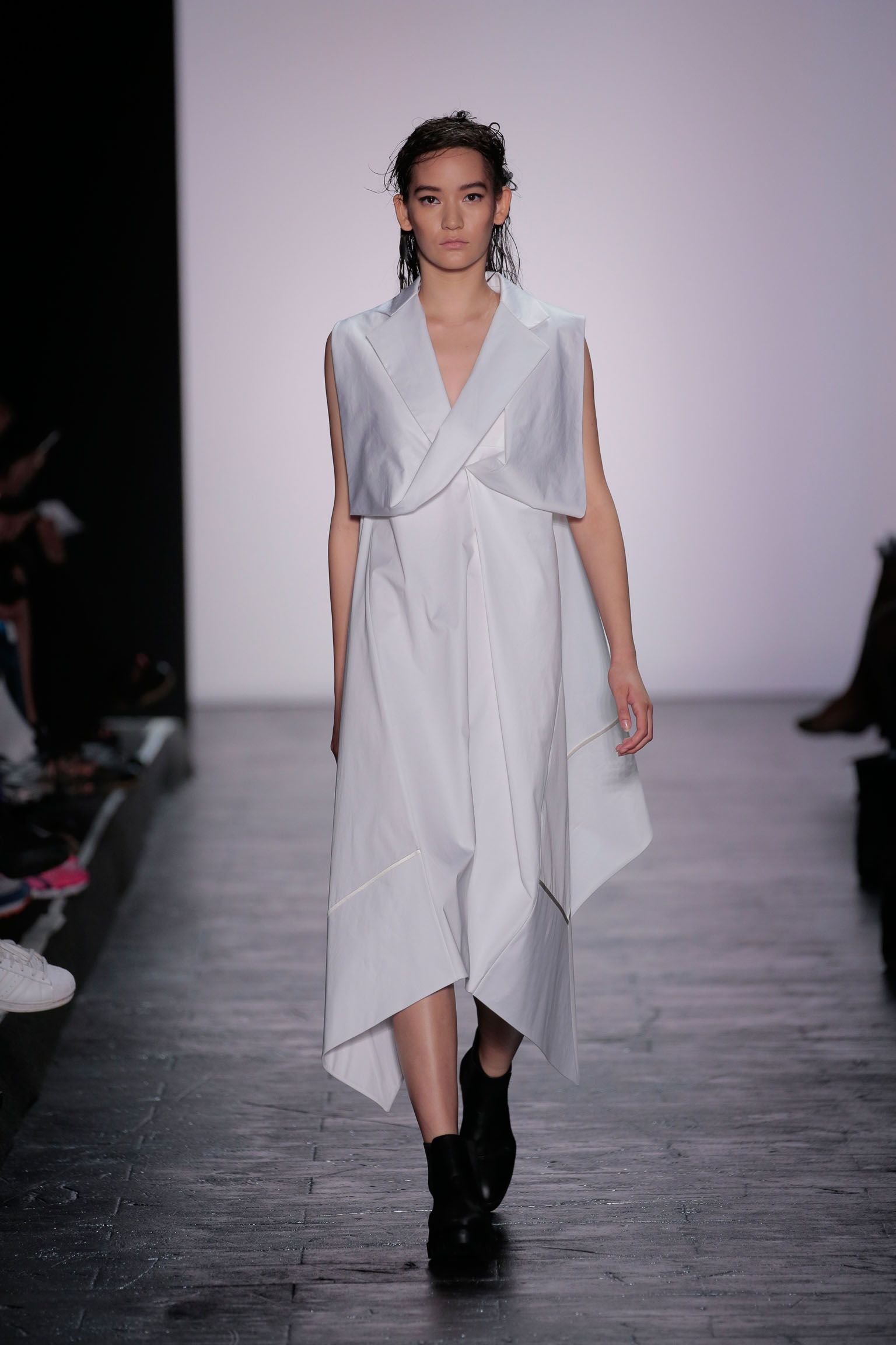 New York Fashion Week S/S 16 - Mehrzad Hemati - Look 2 - Image by Getty Images