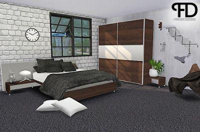 The Sims 4 Mody: Sypialnia \