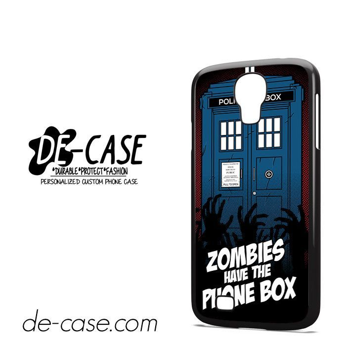 Zombie Have The Phone Box Tardis DEAL-12224 Samsung Phonecase Cover For Samsung Galaxy S4 / S4 Mini