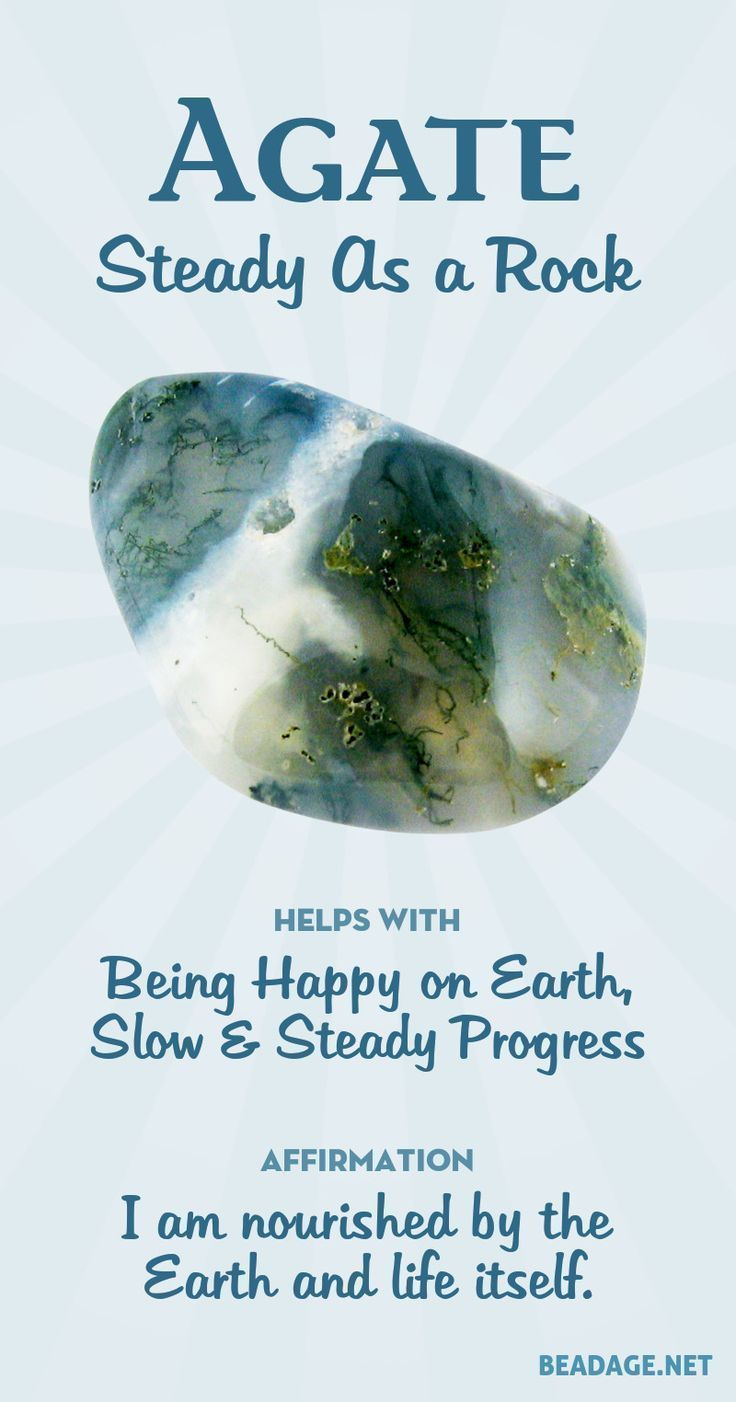 Agate Meaning and Properties #crystalmeanings Agate Meaning & Healing Properties | Learn about gemstones and crystal healing and jewelry at beadage.net. #gemstones #crystals #crystalhealing #agate #crystalmeanings