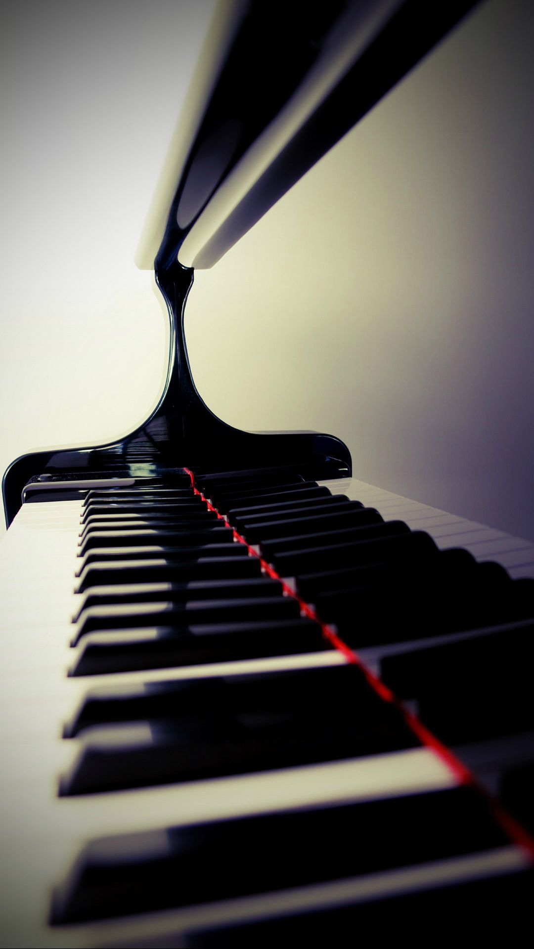 ↑↑TAP AND GET THE FREE APP Stylish Piano Keys Black and White