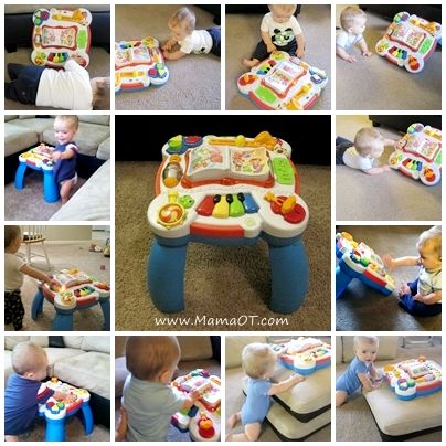 Lots Of Ideas For How To Use A Baby Play Table Based On Your Childu0027s Stage