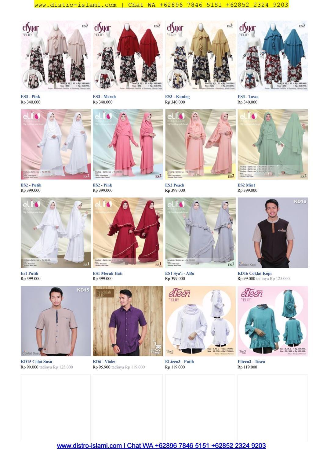 Baju Gamis Modern Anak Muda 2017 Chat Wa Ke 089678465151