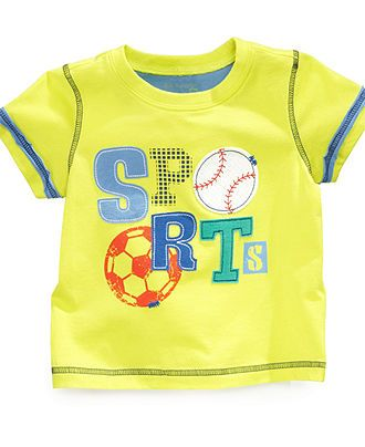 First Impressions Baby T-Shirt, Baby Boys Graphic Tee - Kids Baby ...