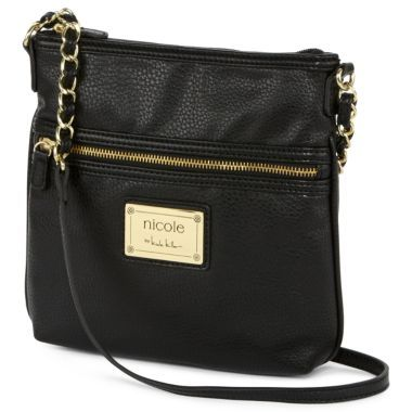 963ab99ef nicole by Nicole Miller® Randy Crossbody Bag $19 | Bags