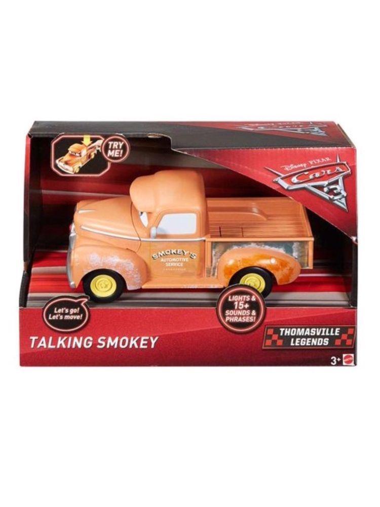 Disney Pixar Cars 3 Talking Smokey Vehicle Thomasville