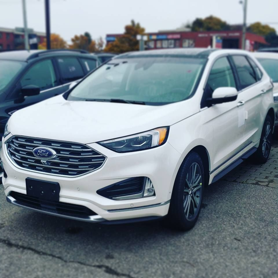 The All New  Ford Edge With A New Face Several Tech Features Is Now Available In Stock At Canadas Top Ford Lincoln Dealership Ecford