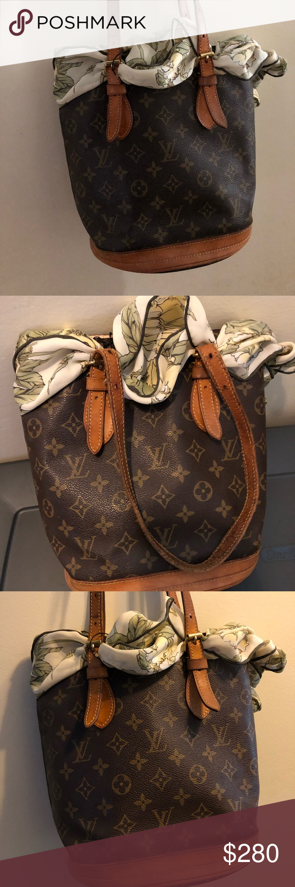 fa3e29cb058 Louis Vuitton Petite Bucket Louis Vuitton Petite Bucket - Vintage - has  wear Louis Vuitton Bags Totes
