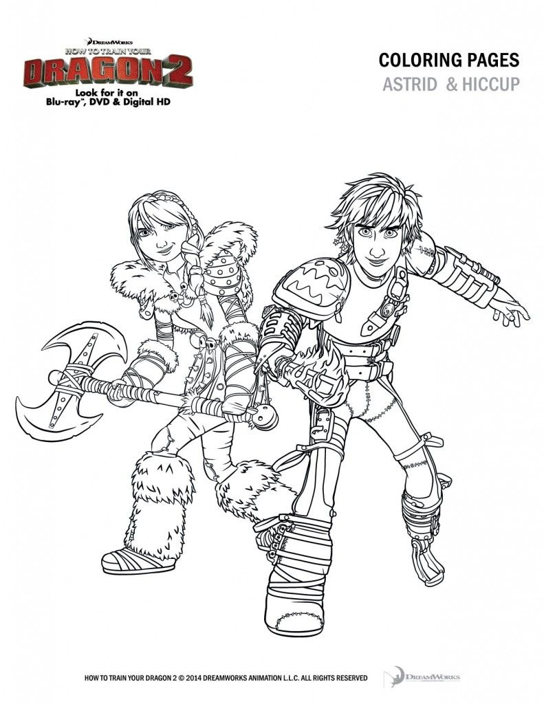 Ausmalbilder Dragons Ohnezahn 2 : How To Train Your Dragon 2 Coloring Sheets And Activity Pages