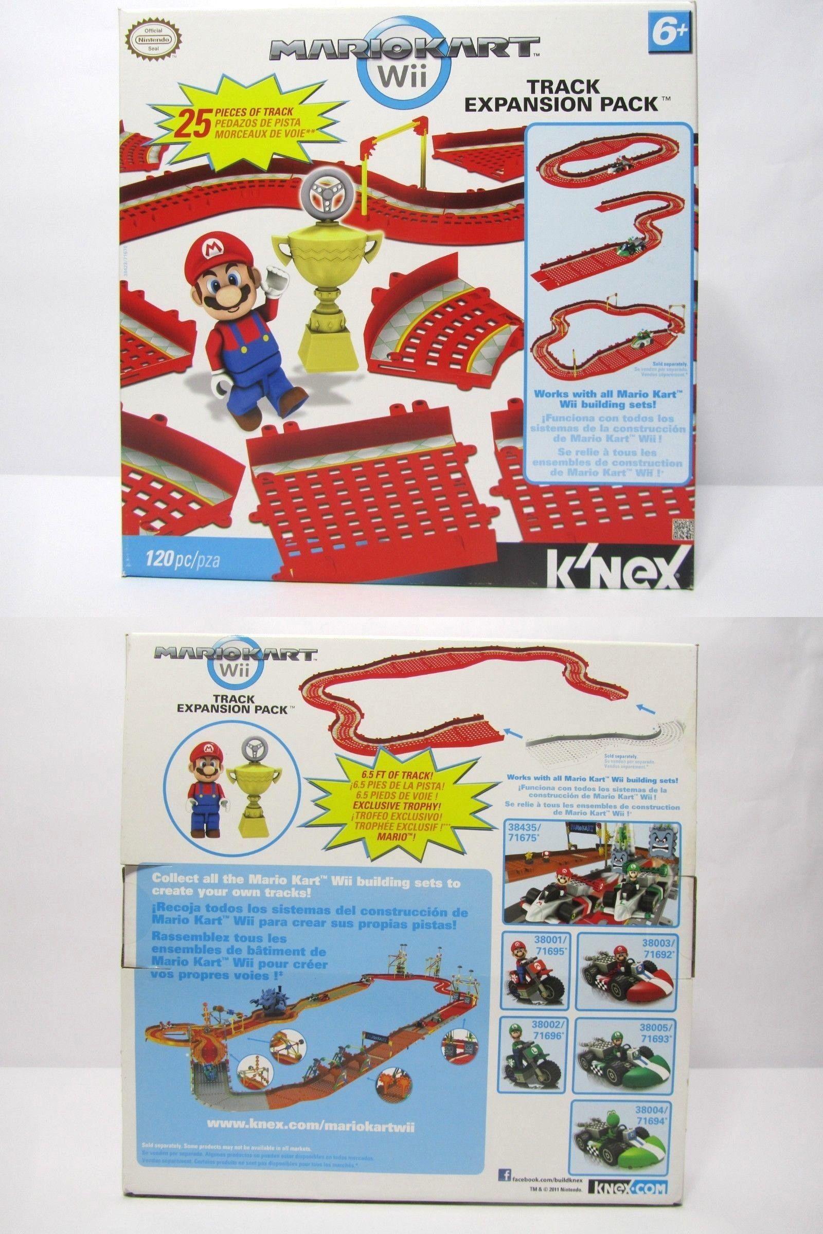 Knex Building Toys 21254 Knex Mario Kart Wii Track Expansion Set