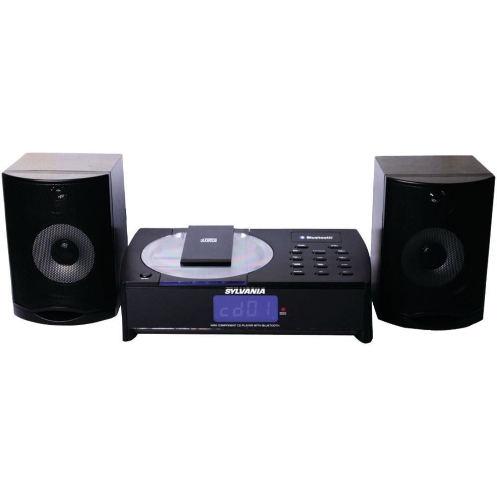 Sylvania Bluetooth Cd Micro System