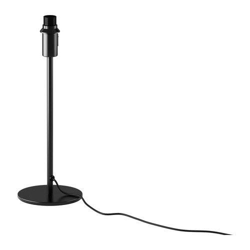 RODD Pied de lampe de table nickelé
