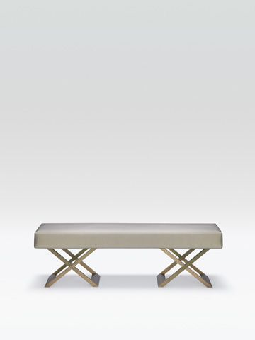 love this beautiful end of bed bench from armanicasa im dreaming