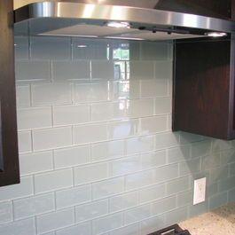 Kitchen backsplash subway tile design ideas pictures remodel and decor also white glass pinterest