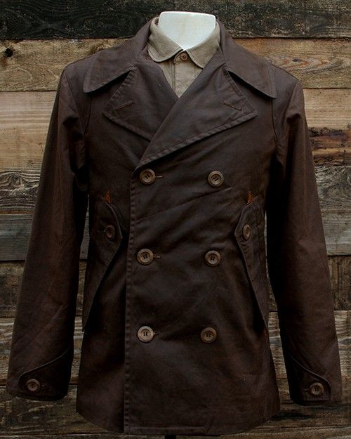 F.B.C TAYLOR & SUPPLY  WAX JACKET handmade by Charles Niehues in France. All products are handmade and craft with pride.