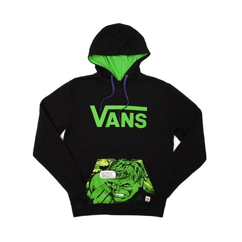 Mens Vans Hulk Pullover Hoodie, Black, at Journeys Shoes | Things I ...