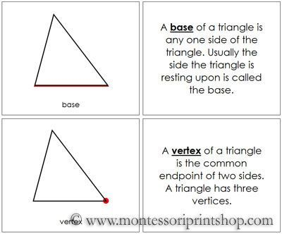 The Study of a Triangle Book illustrates and describes 12 Parts - triangular graph paper