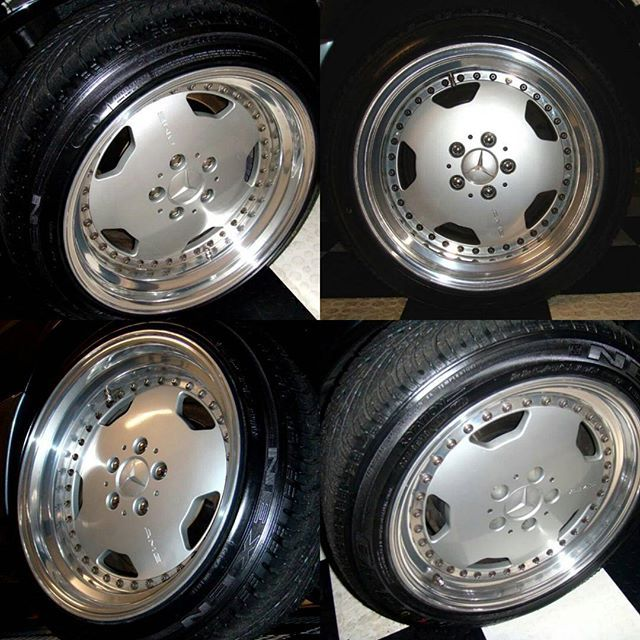 For sale amg 3pc r17 oz rims front rare 10j for for Mercedes benz rims for sale