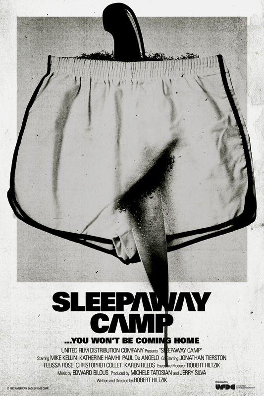 sleepaway camp movie poster - Google Search | MOVIE POSTERS ...
